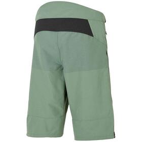 Ziener Efron X-Function Culotte corto sin tirantes Hombre, green mud